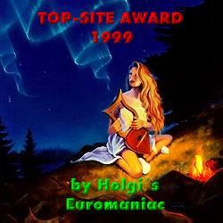 Top site award by Holgi's Euromaniac